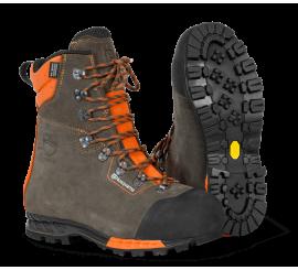 Ochronne skórzane buty z ochroną przed przecięciem, Functional 24