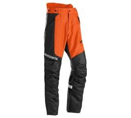 Spodnie do wykaszania, Technical